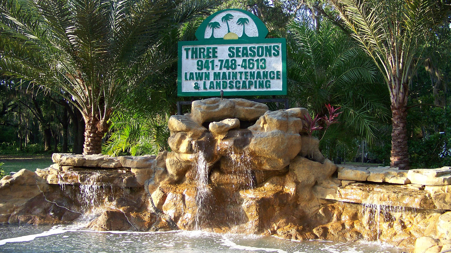 Three Seasons Landscaping.