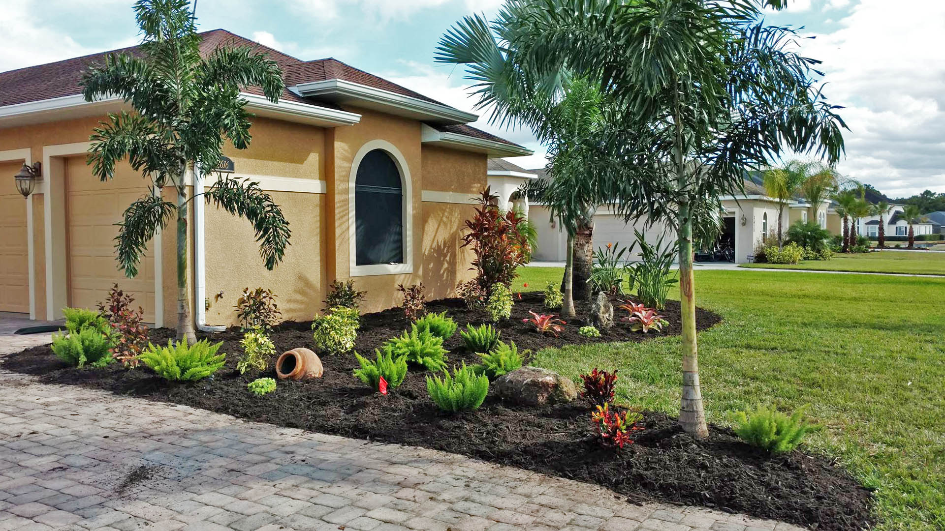 Landscape Design and Installation Services.