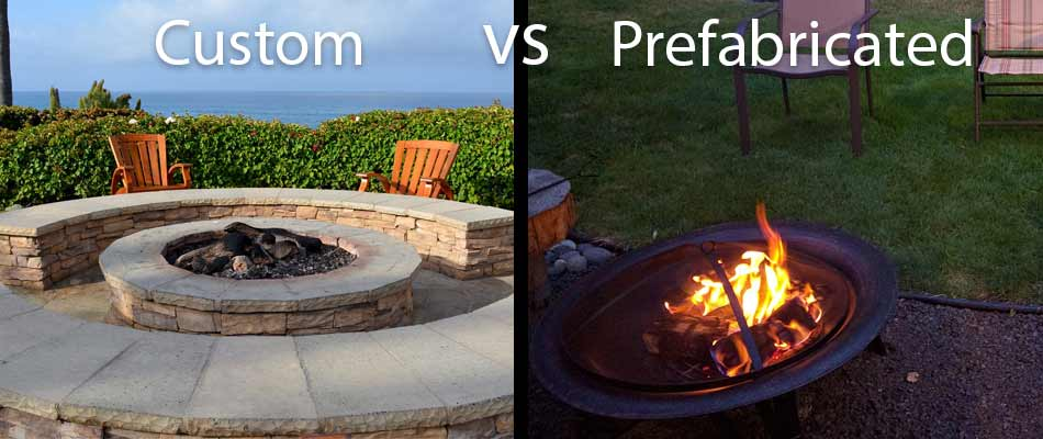 Comparing Custom Built Fire Pits vs. Store Bought Fire Pits