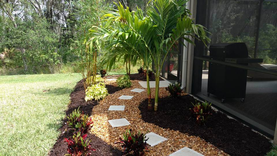 Create Privacy With Landscaping And Stop Erosion Around Pool Home In